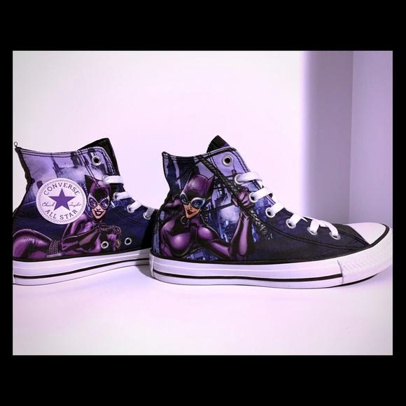 Converse Purple Chuck Taylor All Star Hi Catwoman Sneaker